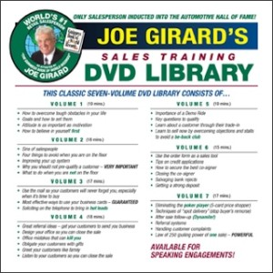 The Joe Girard DVD Sales Library