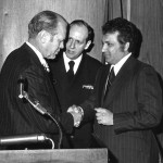 Joe with Gerald Ford