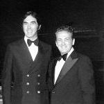 Joe with John DeLorean
