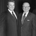Joe with Dr. Norman Vincent Peale