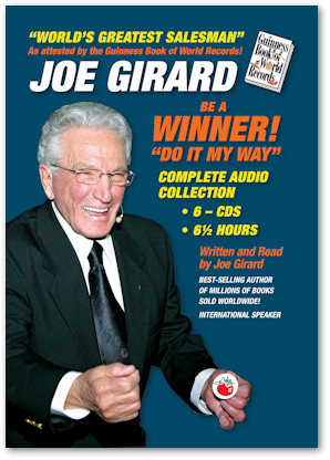 Joe Girard Books on CD