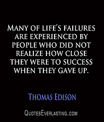 Success Despite Failure