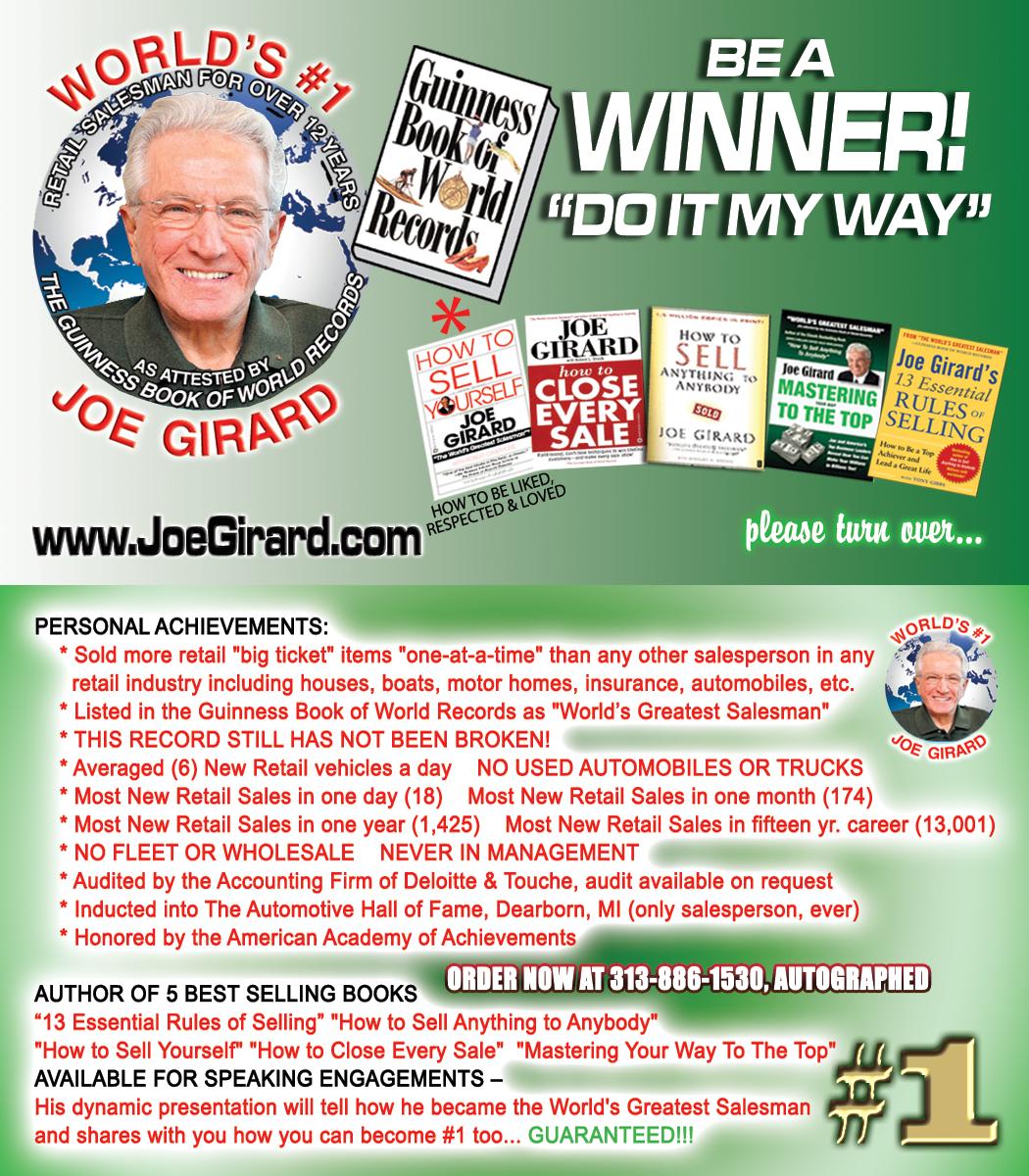The History of Joe Girard