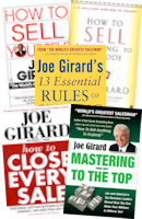 Sales Training Books: The Complete Joe Girard Book Collection