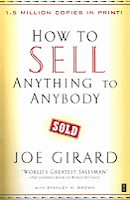 Sales training book cover: How to Sell Anything to Anybody
